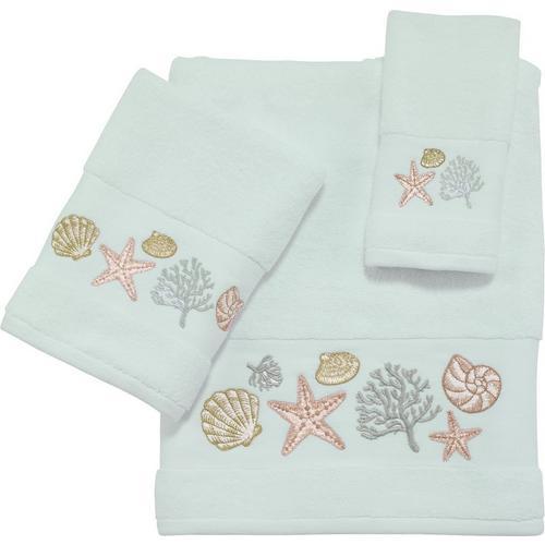 Coastal Bay Harbor Bath Towel Collection
