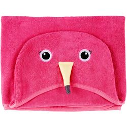 Safdie Flamingo Hooded Towel