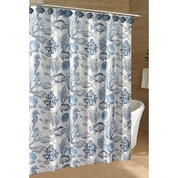 Caribbean Joe Deep Sea Shower Curtain