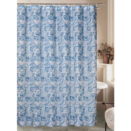 Caribbean Joe Coral Cove Shower Curtain
