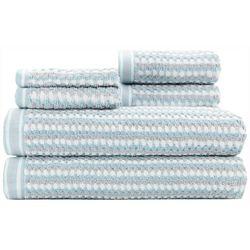 Caro Home Wakefield 6-pc. Towel Set