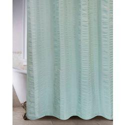 Park B. Smith Seersucker Bands Shower Curtain