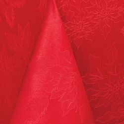 Benson Mills Red Poinsettia Christmas Tablecloth