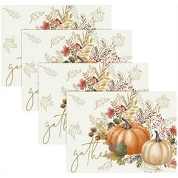 Benson Mills 4-pc. Autumn Gather Placemat Set