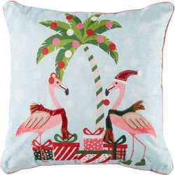 Brighten the Season Festive Tropics Decorative Pillow