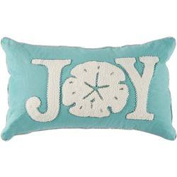 Brighten the Season Sea Shell Joy Decorative Pillow