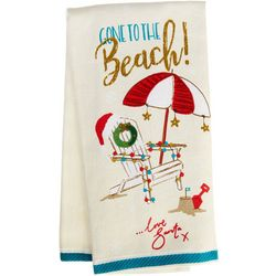 Happy Holiday Gone To The Beach Kitchen Towel