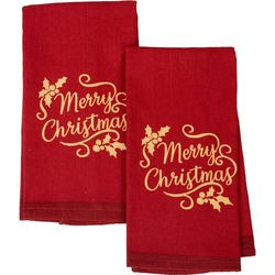 Happy Holiday 2-pk. Merry Christmas Kitchen Towels