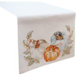 Arlee Watercolor Pumpkins Table Runner