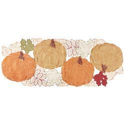 Arlee Pumpkin Patch Centerpiece Table Runner