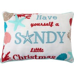 Arlee Sandy Little Christmas Decorative Pillow