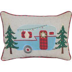 Arlee Christmas Trailer Decorative Pillow
