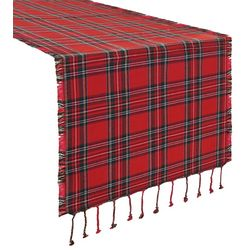 Arlee Christmas Tartan Table Runner
