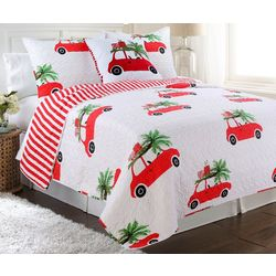 Elise & James Home Holiday Road Trip Quilt Set