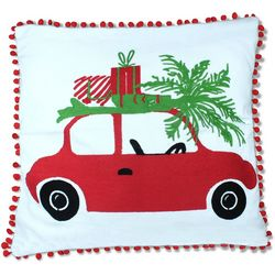 Elise & James Home Holiday Road Trip Decorative Pillow