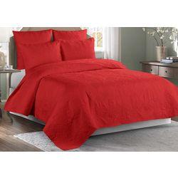 Brighten the Season Red Venice Quilt