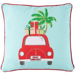 Brighten the Season Christmas Bug Decorative Pillow
