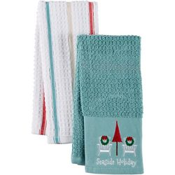 ATI 2-pc. Seaside Holiday Kitchen Towel Set