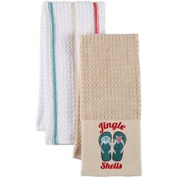 ATI 2-pc. Jingle Shells Kitchen Towel Set