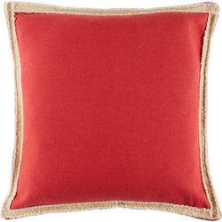 Thro Andi Franco Salsa Red Decorative Pillow