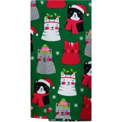 Kay Dee Designs All Over Cats Dual Purpose Kitchen Towel
