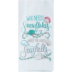 Kay Dee Designs Who Needs Snowflakes Flour Sack Towel