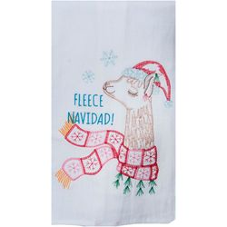 Kay Dee Designs Fleece Navidad! Flour Sack Towel