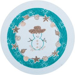 Kay Dee Designs Seas & Greetings Braided Round Placemat