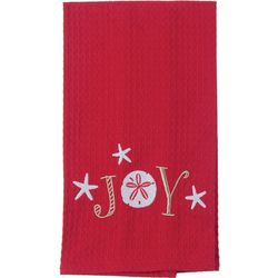 Kay Dee Designs Embroidered Joy Waffle Kitchen Towel