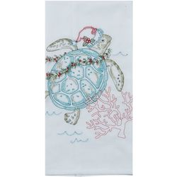 Kay Dee Designs Sea Turtle Christmas Flour Sack Towel
