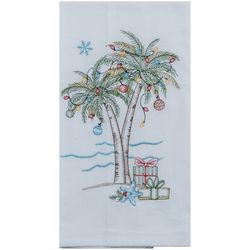 Kay Dee Designs Palm Tree Present Flour Sack Towel