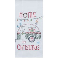 Kay Dee Designs Home For Christmas Flour Sack Towel