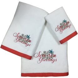Brighten the Season 3-pc. Oceanholic Christmas Towel Set