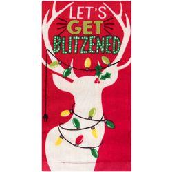 Ritz Let's Get Blitzened Kitchen Towel