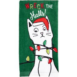 Ritz Wreck the Halls! Kitchen Towel