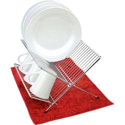 Ritz Reversible Red & Green Dish Mat