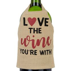 Ritz Love The Wine You're With Bottle Apron