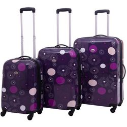 American Flyer Fireworks 3-pc. Hardside Spinner Luggage Set