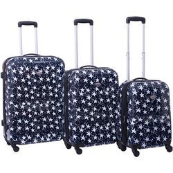 American Flyer Stars 3-pc. Hardside Spinner Luggage Set