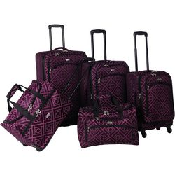 American Flyer 5-pc. Astor Spinner Luggage Set