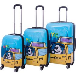 Ed Heck Riley 3-pc. Hardside Spinner Luggage Set