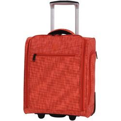 it Luggage 17'' Stitched Squares Under Seat Tote
