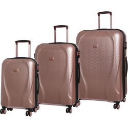 it Girl 3-pc. Sparkle Hardside Spinner Luggage Set