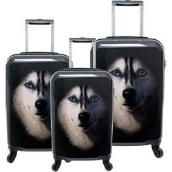 Chariot 3-pc. Husky Hardside Luggage Set