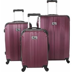 Chariot 3-pc. Monet Hardside Luggage Set
