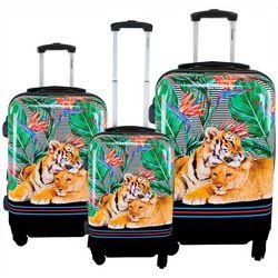 3-pc. Mod Tiger Hardside Luggage Set