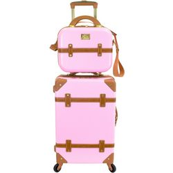 2-pc. Gatsby 20'' Luggage & Beauty Case Set