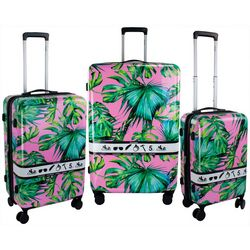 Chariot 3-pc. Paradies Hardside Luggage Set