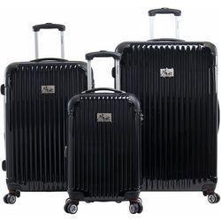 Chariot 3-pc. Paola Hardside Luggage Set