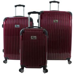 Chariot 3-pc. Paola Hardside Luggage Set